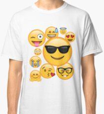 Emoji Pack ComboT-shirt Emoticon Smily Face Tshirt Classic T-Shirt