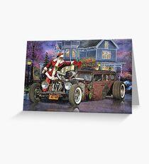 Rat Rod Studios Christmas 10 Greeting Card