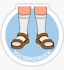Socks & Birkenstocks Sticker