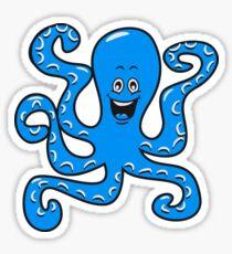 Tintenfisch oktopus  Sticker
