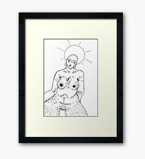 tumblr godess Framed Print