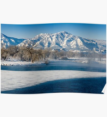Breathing The Flatirons Poster