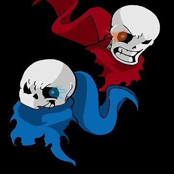 Sans and Papyrus by b0mbsaway14