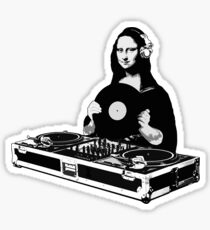 DJ Mona Lisa Sticker