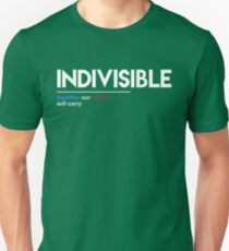 Indivisible T-Shirt: Together Our Voices Will Carry Unisex T-Shirt