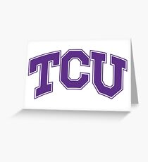 TCU HornedFrogs Greeting Card