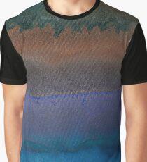Sediment (fluid art on canvas) Graphic T-Shirt