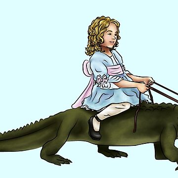 Doreen and her Alligator by ChePanArt