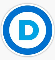 Democratic Logo Sticker