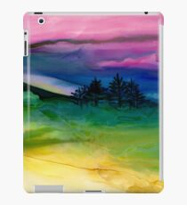"""Evergreens"" - Unique, Original Artist's Painting! iPad Case/Skin"