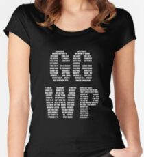GG WP - Unspoken Words Women's Fitted Scoop T-Shirt