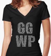 GG WP - Unspoken Words Women's Fitted V-Neck T-Shirt