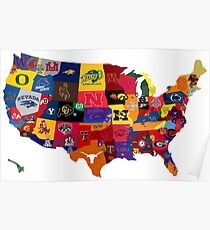 College Country Poster