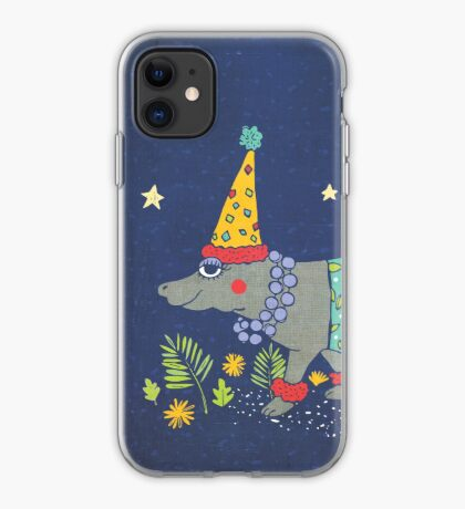 Party Hippo iPhone-Hülle & Cover