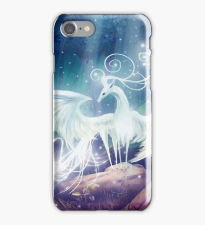 The mystical stag iPhone Case/Skin