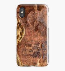 Three Kings Petroglyphs - Dry Fork Canyon - Vernal Utah iPhone Case/Skin