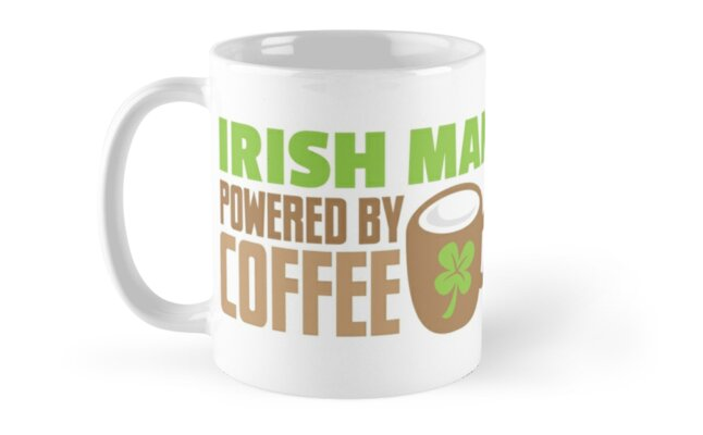 IRISH MAN powered by coffee by jazzydevil