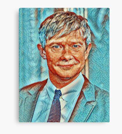 Martin Freeman Canvas Print