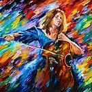«Música - Leonid Afremov» de Leonid Afremov