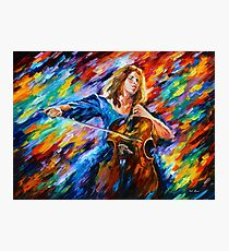 Music - Leonid Afremov Photographic Print