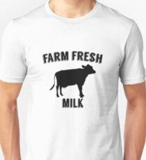 Farm Fresh Milk Sign Unisex T-Shirt