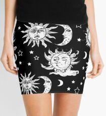 Sun and Moon Mini Skirt