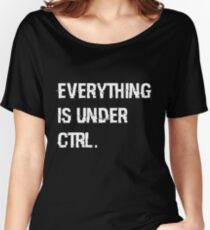 Under Ctrl. Women's Relaxed Fit T-Shirt