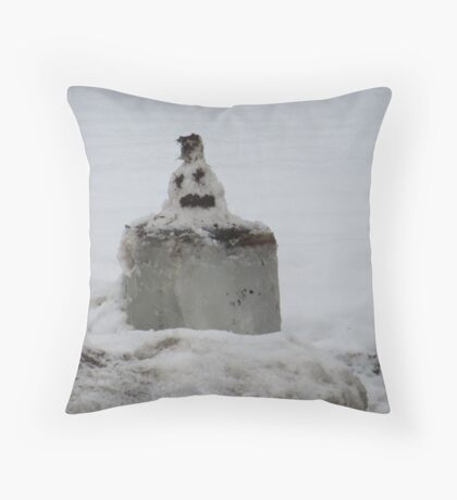 A Very Late Merry Christmas Throw Pillow