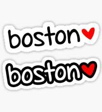 Boston ❤ Sticker