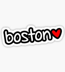 Boston ❤ Sticker