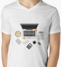 computer,graphic artist Men's V-Neck T-Shirt