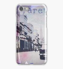 Street purple iPhone Case/Skin