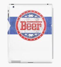 Beer Lover Shirt iPad Case/Skin