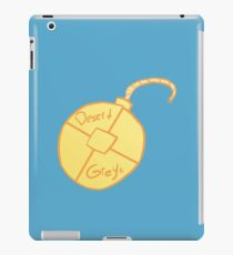 This webcomics the bomb iPad Case/Skin