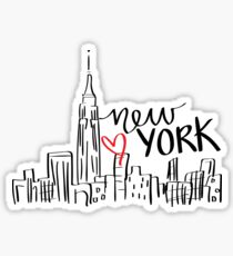 Apple stickers redbubble - Stickers geant new york ...