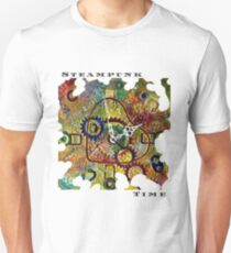 STEAMPUNK LOVE - STEAMPUNK TIME  Slim Fit T-Shirt