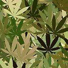 Marijuana Cannabis Weed Pot Camouflage  by MarijuanaTshirt