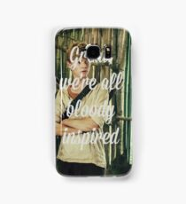 Great, we're all bloody inspired - The Maze Runner Samsung Galaxy Case/Skin