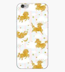 Unicorn sky dance iPhone Case