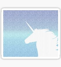 Amethyst unicorn Sticker