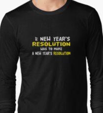 New Year's Resolution Success T-Shirt