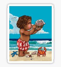 Tui's Gang Fiji Islands - Davui Shell Sticker