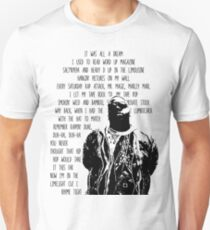 Camiseta unisex Biggie Smalls