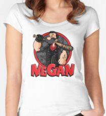 Negan The Savior Man Women's Fitted Scoop T-Shirt