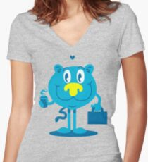 Love what you do Women's Fitted V-Neck T-Shirt