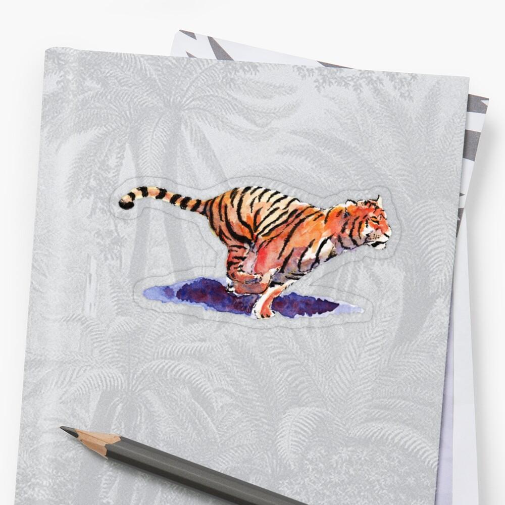 The Tiger Sticker