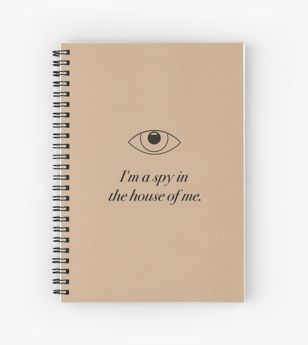 Spy in the House of Me - Carrie Fisher Memorial Journal by carriediaries