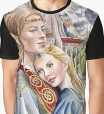 Caught in the moment - elf and human romance Graphic T-Shirt