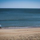 Fisherman On the Beach by WeeZie
