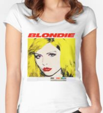 Blondie Warhol Print Women's Fitted Scoop T-Shirt